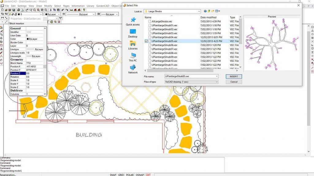 Landscape software for professionals
